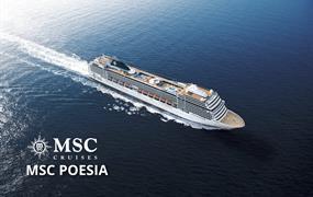 Brazílie, Uruguay, Argentina ze Santosu na lodi MSC Poesia