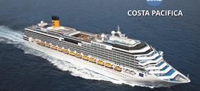 Itálie, Francie, Španělsko, Portugalsko ze Savony na lodi Costa Pacifica