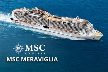 Itálie, Francie z Civitavecchia na lodi MSC Meraviglia