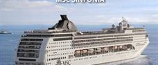 Francie, Itálie z Janova na lodi MSC Sinfonia