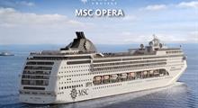 Mexiko, Kuba, Jamajka, Kajmanské ostrovy z Havany na lodi MSC Opera