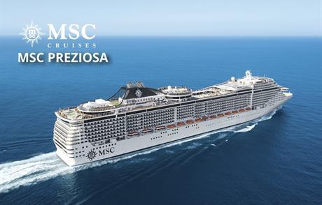 Německo, Francie z Hamburku na lodi MSC Preziosa
