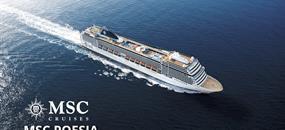 Francie, Španělsko, Maroko, Portugalsko, Itálie z Barcelony na lodi MSC Poesia