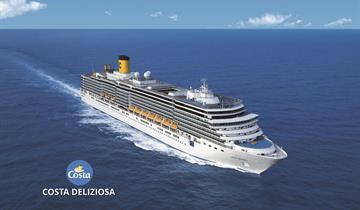 Chorvatsko, Itálie z Bari na lodi Costa Deliziosa