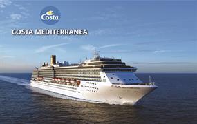 Německo, Nizozemsko, Belgie, Francie, Velká Británie na lodi Costa Mediterranea