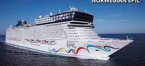 USA, Aruba, Curacao, Bonaire, Svatá Lucie, Barbados, Svatý Kryštof a Nevis, Svatý Martin ze San Juan na lodi Norwegian Epic