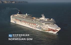 USA, Svatý Kryštof a Nevis, Svatá Lucie, Antigua a Barbuda z New Yorku na lodi Norwegian Gem