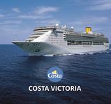 Řecko, Itálie z Pireu na lodi Costa Victoria ***+