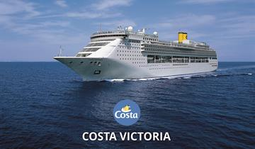 Itálie, Černá Hora, Chorvatsko z Benátek na lodi Costa Victoria