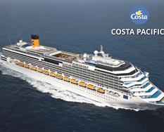 Itálie, Španělsko, Malta z Janova na lodi Costa Pacifica ****