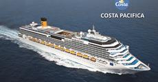 Itálie, Španělsko, Malta z Civitavecchia na lodi Costa Pacifica