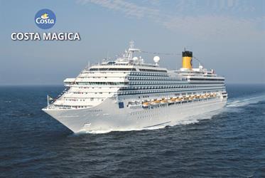 Itálie, Španělsko, Francie z Janova na lodi Costa Magica