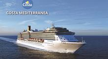 Itálie, Řecko z Bari na lodi Costa Mediterranea