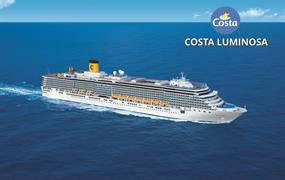 Itálie, Řecko, Chorvatsko z Bari na lodi Costa Luminosa