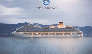 Spojené arabské emiráty, Katar z Abu Dhabi na lodi Costa Diadema
