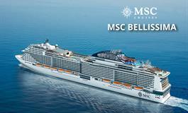 Itálie, Francie, Španělsko z Barcelony na lodi MSC Bellissima