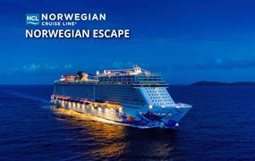 USA, Zámořské území Velké Británie z New Yorku na lodi Norwegian Escape