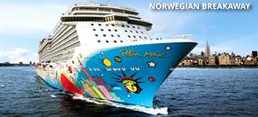 USA, Bahamy na lodi Norwegian Breakaway