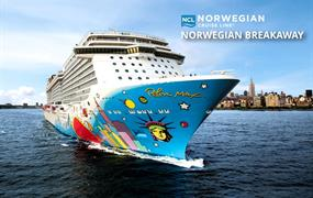 USA, Bahamy na lodi Norwegian Breakaway