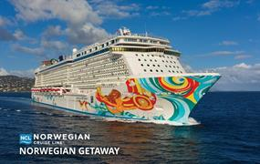 USA, Mexiko z New Orleans na lodi Norwegian Getaway