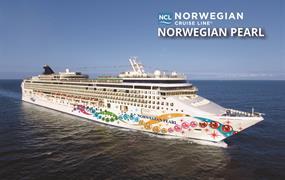 USA, Mexiko z Miami na lodi Norwegian Pearl