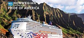 USA na lodi Pride of America