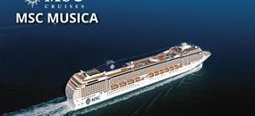 Itálie, Řecko, Černá Hora z Benátek na lodi MSC Musica