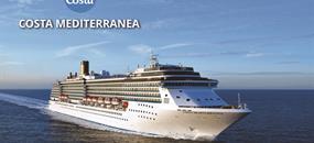 Nizozemsko, Velká Británie, Francie, Španělsko, Portugalsko z Ijmuidenu na lodi Costa Mediterranea