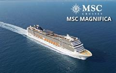 Itálie, Francie, Španělsko z Janova na lodi MSC Magnifica
