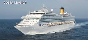 Portugalsko, Španělsko, Francie, Velká Británie, Nizozemsko, Švédsko z Lisabonu na lodi Costa Magica