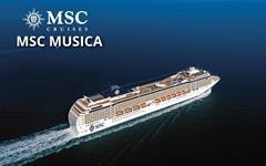 Francie, Itálie z Marseille na lodi MSC Musica