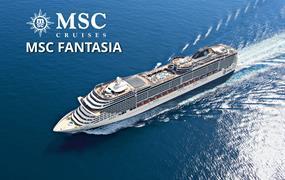 Itálie, Francie, Španělsko, Portugalsko, Brazílie z Janova na lodi MSC Fantasia