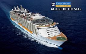 USA, Svatý Kryštof a Nevis, Bahamy na lodi Allure of the Seas