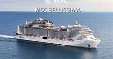 Francie, Itálie z Marseille na lodi MSC Bellissima