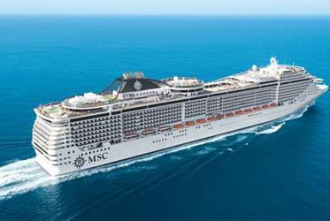 Francie, Itálie z Marseille na lodi MSC Divina