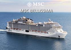 Španělsko, Itálie z Janova na lodi MSC Bellissima