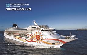 USA, Bahamy na lodi Norwegian Sun
