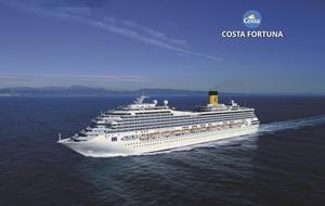 Itálie, Francie, Španělsko z Janova na lodi Costa Fortuna
