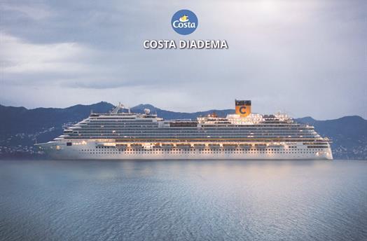 Spojené arabské emiráty, Katar z Dubaje na lodi Costa Diadema ****