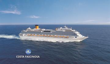 Itálie, Francie, Španělsko z Valencie na lodi Costa Fascinosa