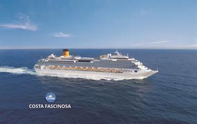 Francie, Španělsko, Portugalsko, Velká Británie, Nizozemsko, Dánsko, Německo z Marseille na lodi Costa Fascinosa