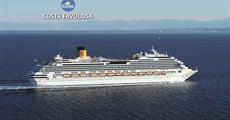 Itálie, Francie, Španělsko, Antigua a Barbuda, Barbados, Martinik, Guadeloupe ze Savony na lodi Costa Favolosa
