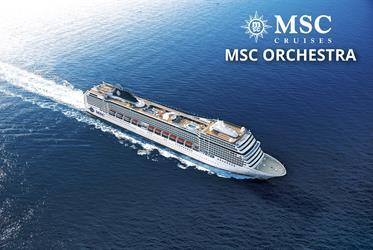 Itálie, Francie, Španělsko z Marseille na lodi MSC Orchestra