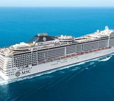 Francie, Španělsko, Itálie z Marseille na lodi MSC Divina