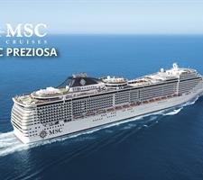 Francie, Německo z Le Havre na lodi MSC Preziosa