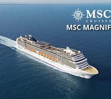 Itálie, Francie z Janova na lodi MSC Magnifica