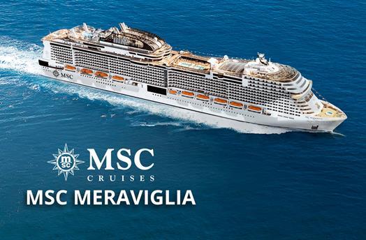 USA, Dominikánská republika, Bahamy z Miami na lodi MSC Meraviglia ****