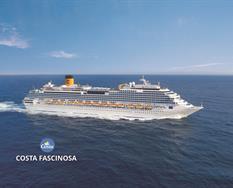 Francie, Španělsko, Portugalsko, Velká Británie, Itálie z Marseille na lodi Costa Fascinosa ****
