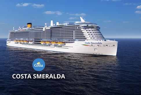 Itálie, Francie, Španělsko ze Savony na lodi Costa Smeralda ****