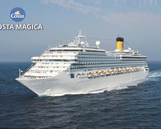 Francie, Itálie, Španělsko z Marseille na lodi Costa Magica ****